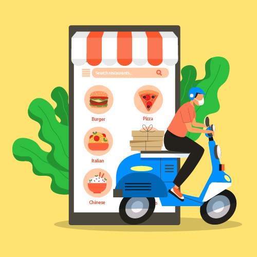 food order and delivery