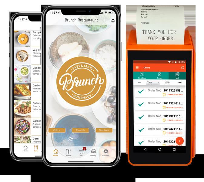 create a food ordering app