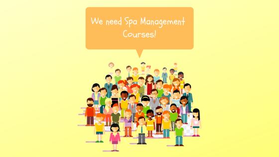 Spa Management Courses