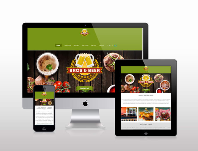 make a food ordering website