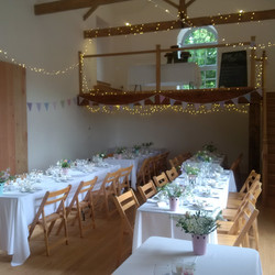 Wedding Breakfast at Monks Withecombe