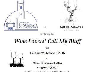 Wine Lovers' Call My Bluff evening
