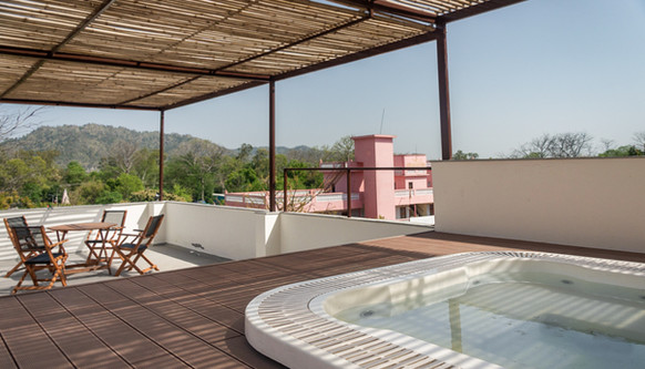 Terrace + Hot Tub