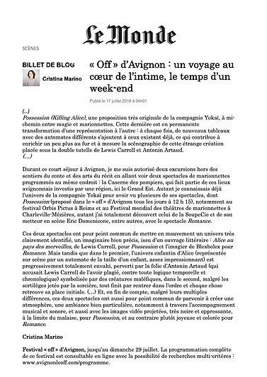 POSSESSION-Le Monde Avignon 2018.jpg