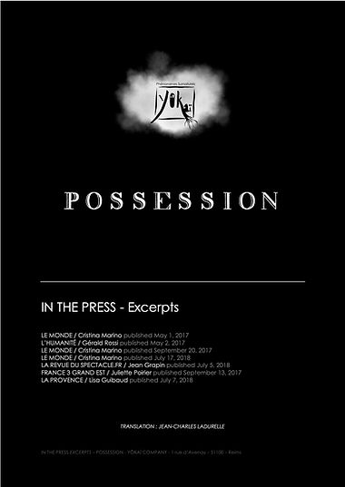 Page de garde extraits- RP POSSESSION EN