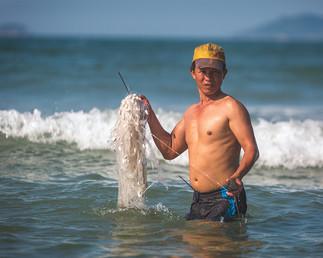 The Fisherman At Hoi An