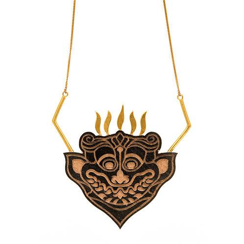Yali Charcoal Necklace