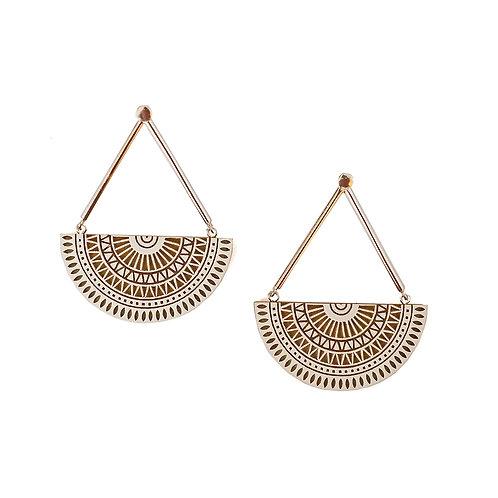 Chandratithi Indigo Earrings