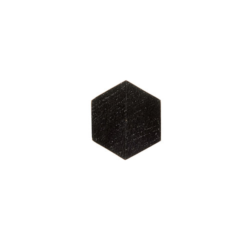 Charcoal Hexa Ring