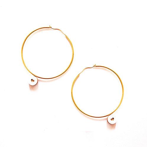 Love is all we need earrings