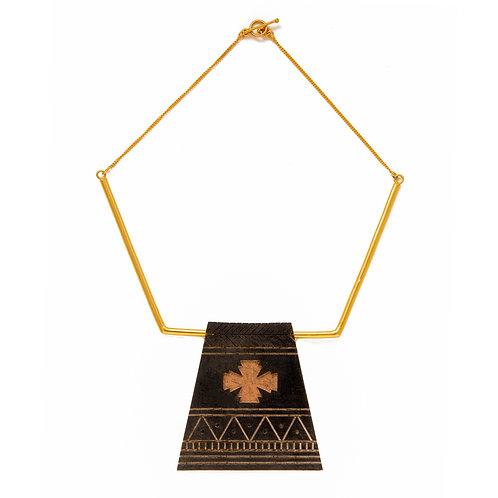 Samburu Charcoal Necklace