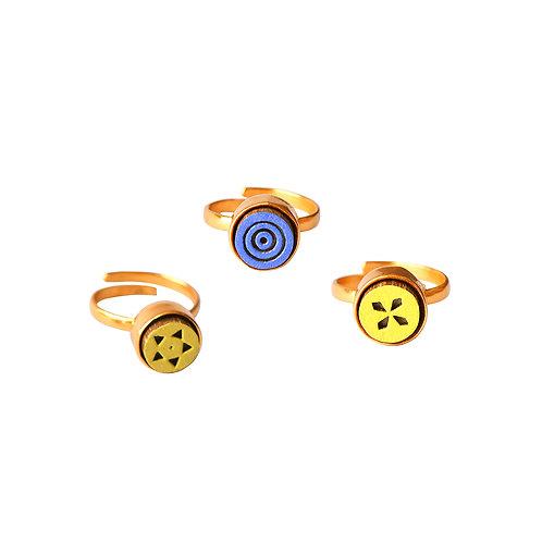 Set of 3 Midi Rings