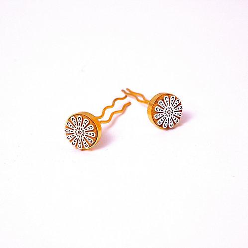Care Repair Rewear Bun Pins- Set of 2