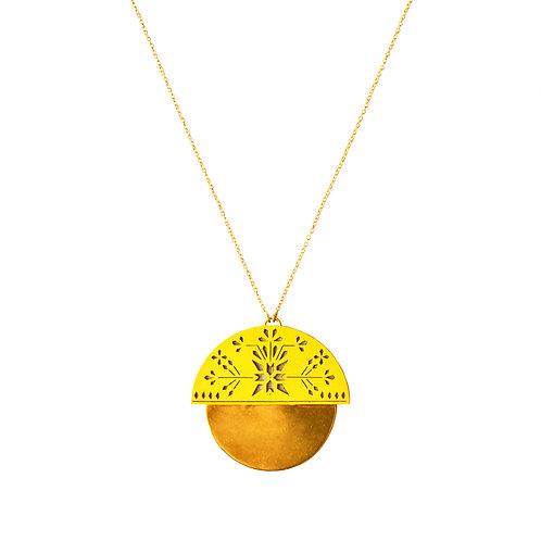 Sheild Haldi Necklace