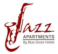 Jazz Apartmets Blue Doors
