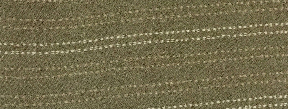 Gray with White & Tan Dotted Stripes