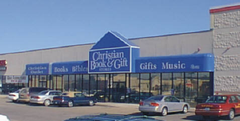 Christian Book & Gift Awning