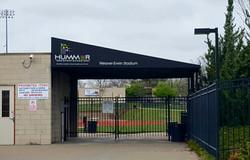 Hummer Sports Park Awning