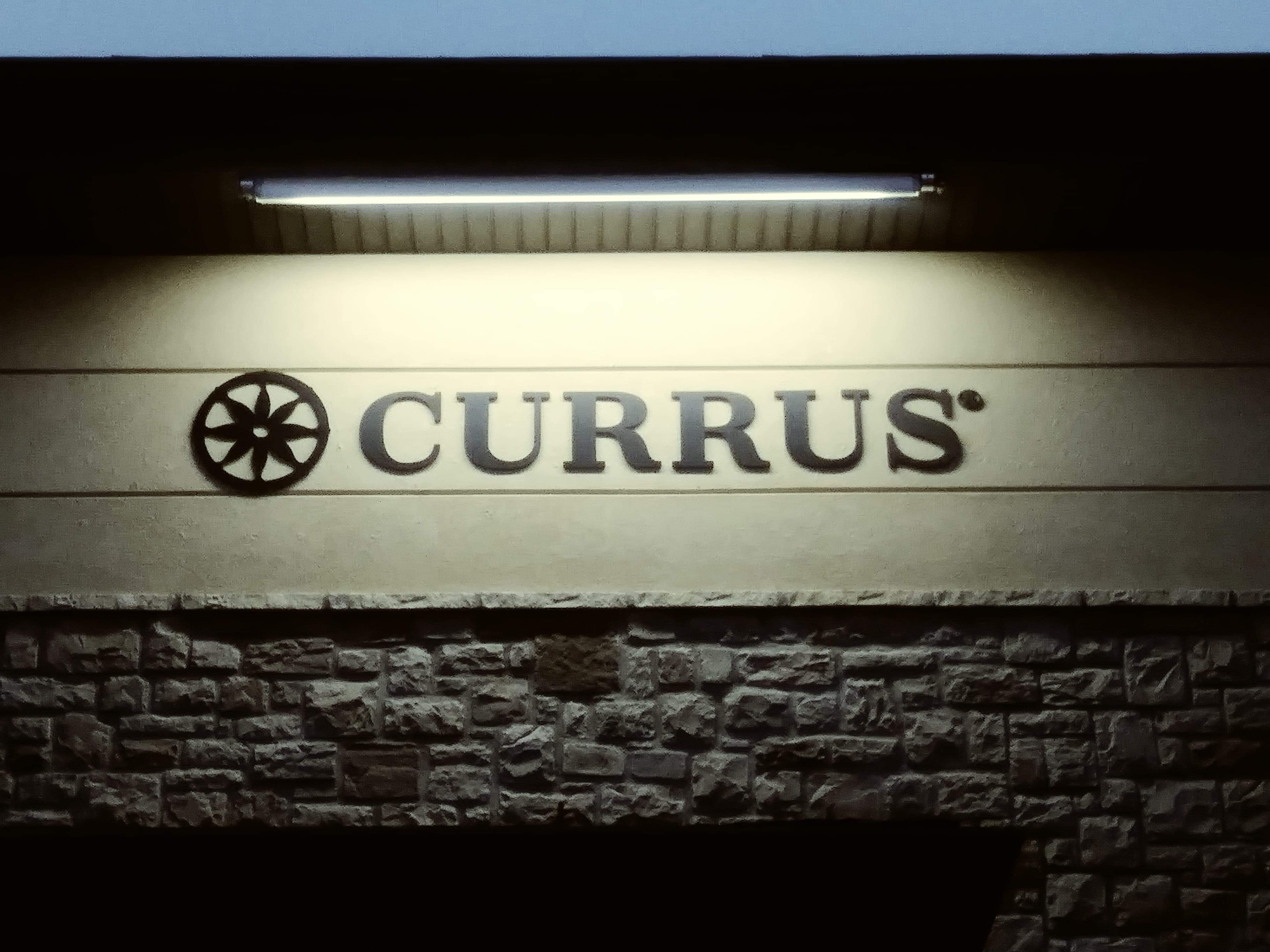 Lighting For New CURRUS Lettering