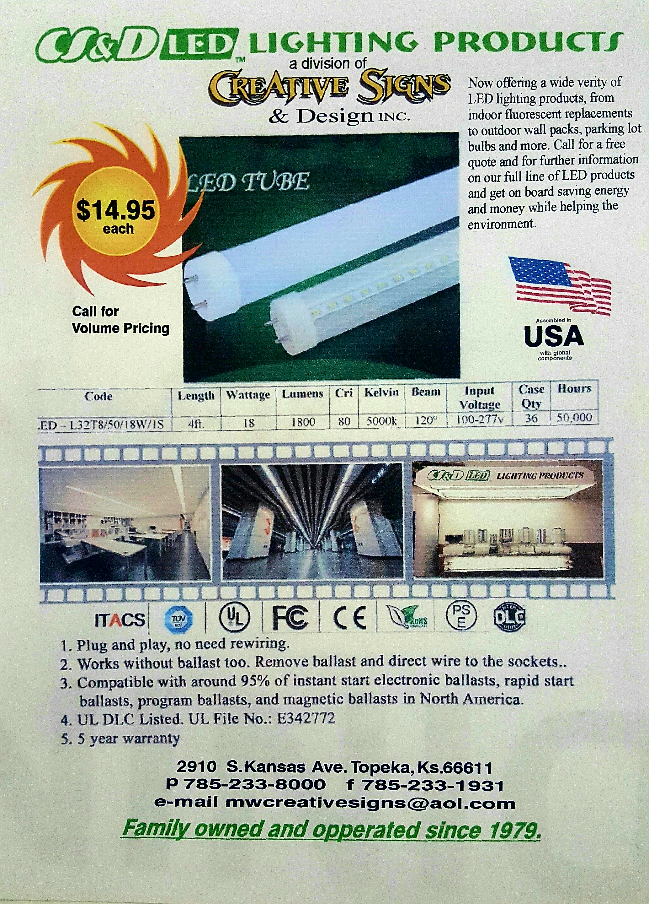 LED Tube Lamps