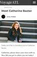 My Feature in VoyageATL: Meet Catherine Baxter