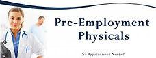pre-employment medicals