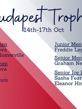 10-strong British team set for Budapest Trophy