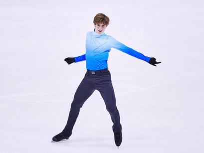 "Junior Grand Prix Bronze Medal ""A Bit of a Blur"" For Ed Appleby"