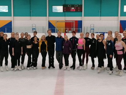 Opening Weekend Success For British Ice Skating Academy of Dance