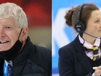 Two GB Referees to officiate at Beijing Winter Olympic Games