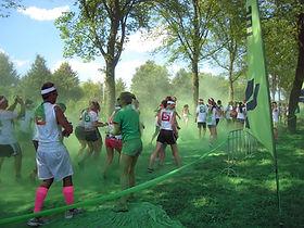 Colore verde Run
