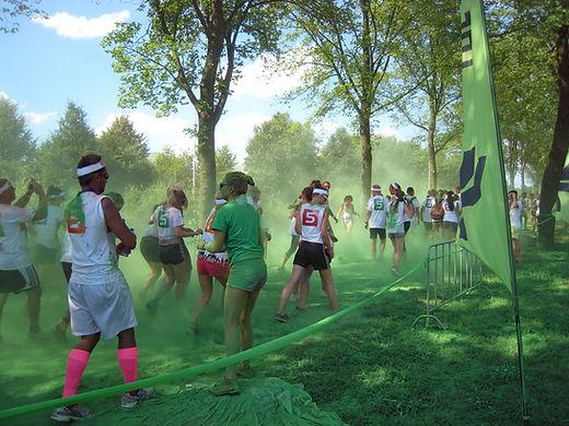 Green Color Run