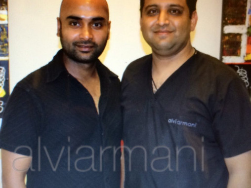 Why celebrities choose AlVIARMANI as their hair transplant clinic
