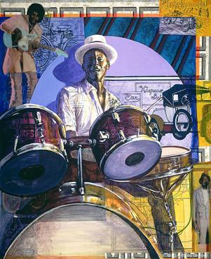 BLUES ROUTES COLLECTION - Drum Drivin' Sam Carr