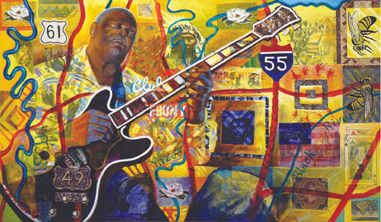 BLUES ROUTES COLLECTION - B.B. King (Indianola Blues)