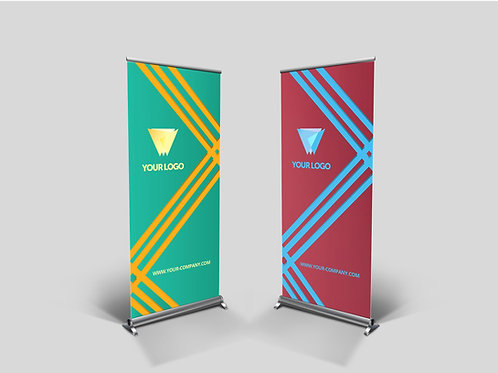 BANNERS 4 x 8 ft