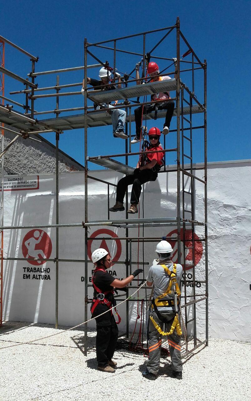 treinamento trabalho em Altura NR-35