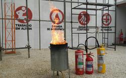 Capacitação brigada de incendio