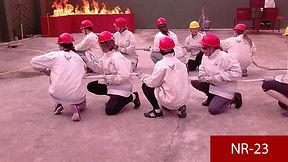 Treinamento Combate a Incendio NR23 em Curitiba