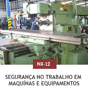 Segurança no Trabalho em Maquinas e Equipamentos