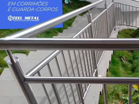 Procura Empresa Especializada em Corrimão? encontre aqui na Steel Metal Corrimãos e Guarda Corpos.