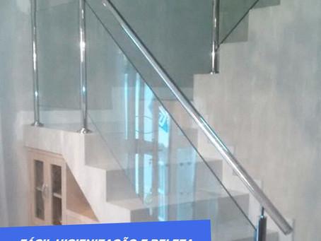 Corrimão de Escada.