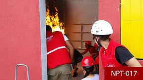 Treinamento Brigada de incêdio Curitiba NPT017