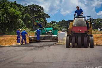 servico de pavimentacao asfaltica