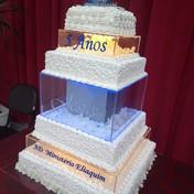 display para bolo de casamento em acrili