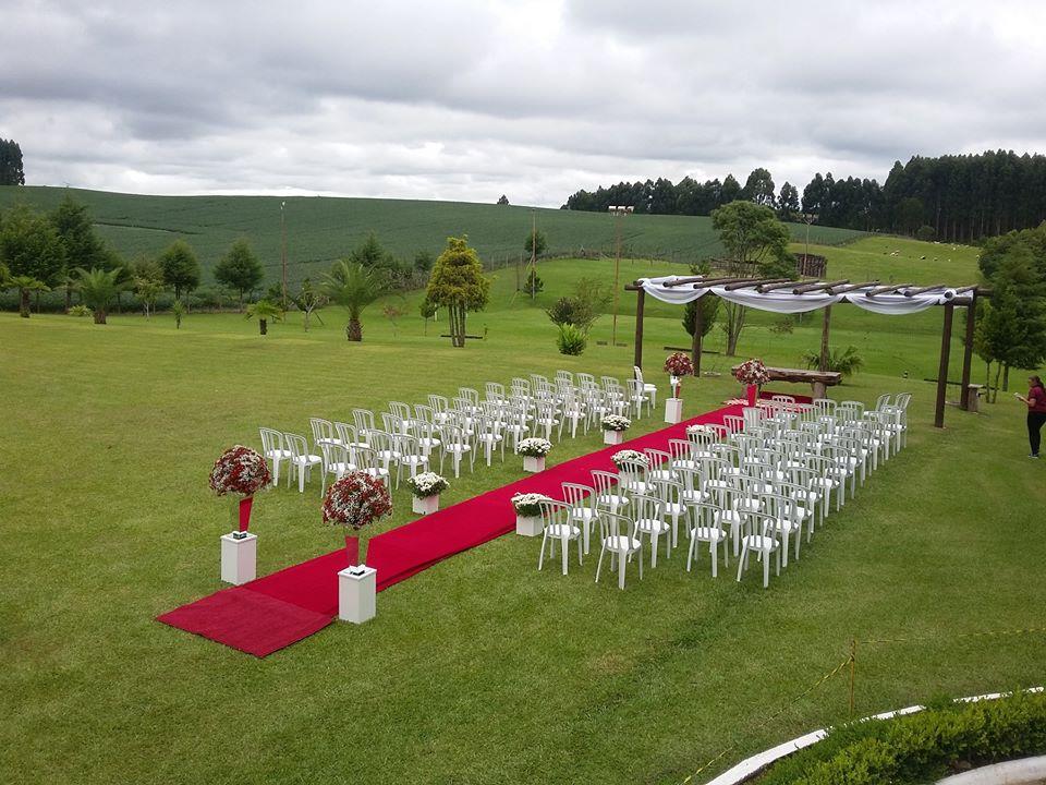 chacara para casamento ao ar livre