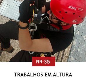 Treinamento Trabalho em Altura nr35 Curitiba