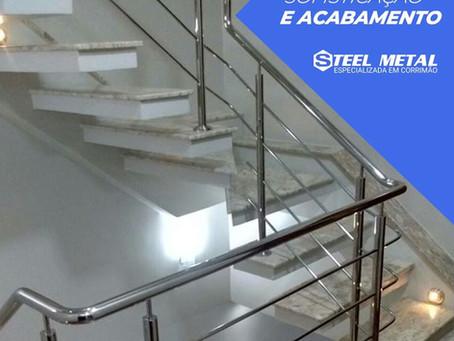 Steel Metal Especializada em Corrimão de Aço Inox!