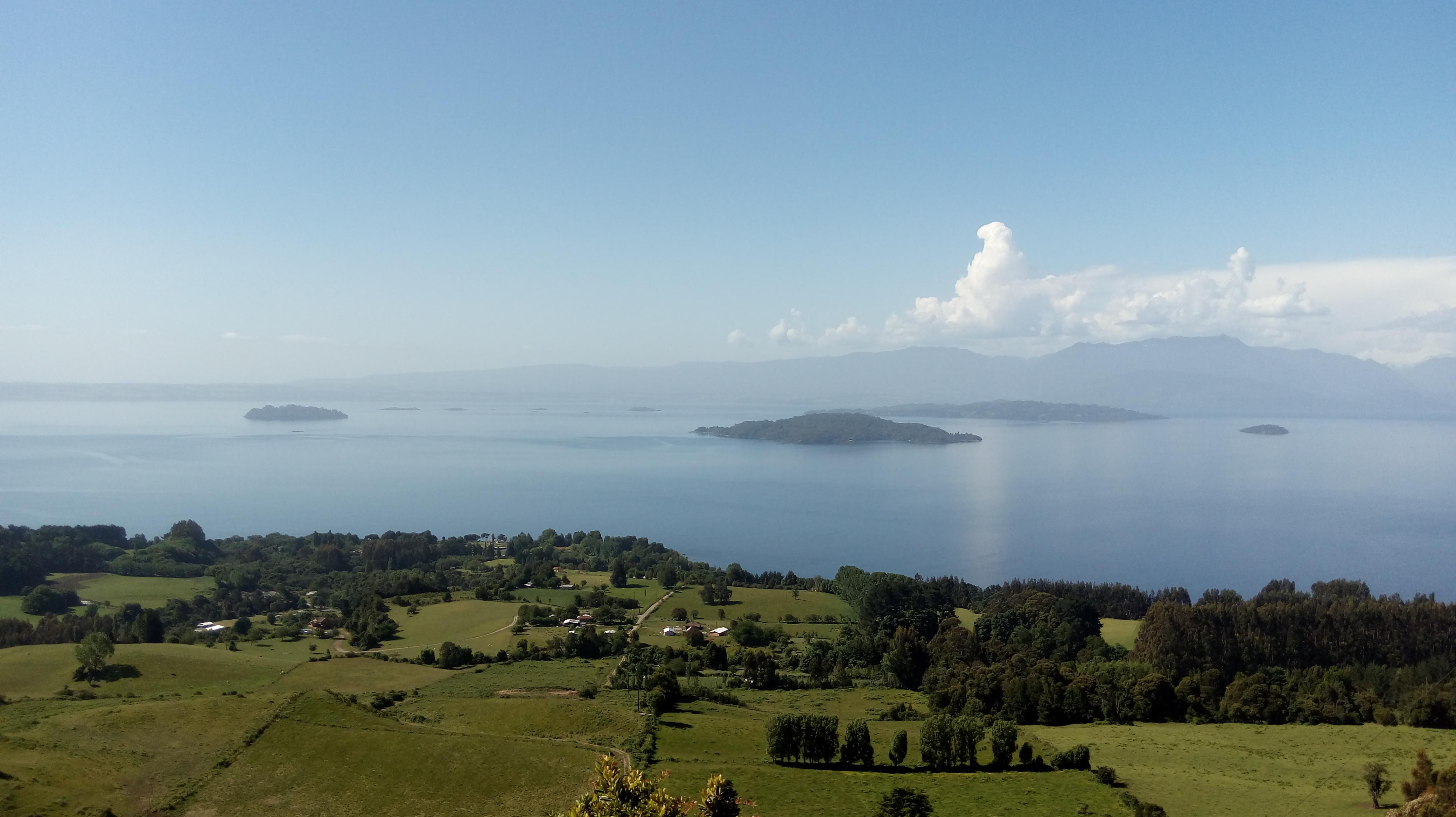 Panorámica del Lago Ranco