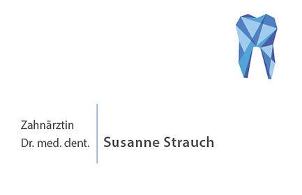 Visitenkarte S. Strauch